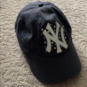 PINK Yankees Hat